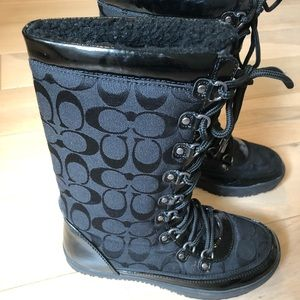 Coach Winter Boots Size 5.5